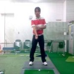 スライスを直すポイントは右腕の回外と回内の動きを覚えること